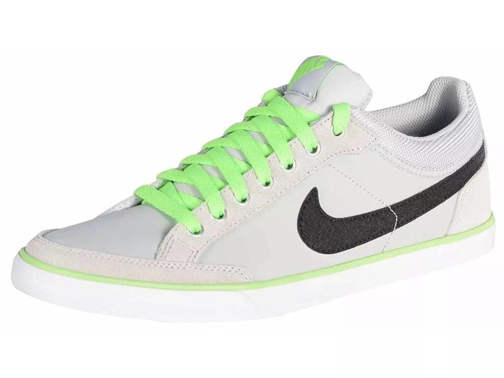 68cc6186ed5 tenis nike hombre gris con verde capri iii low 579622031. Cargando zoom.