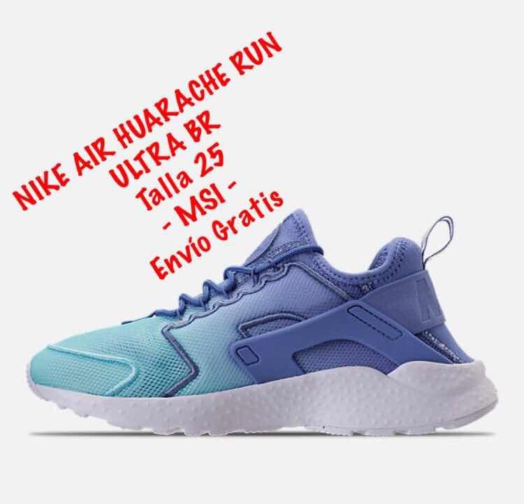 size 40 81fb0 dfe4a tenis nike huarache run ultra azul. !! 25 mx !! originales.