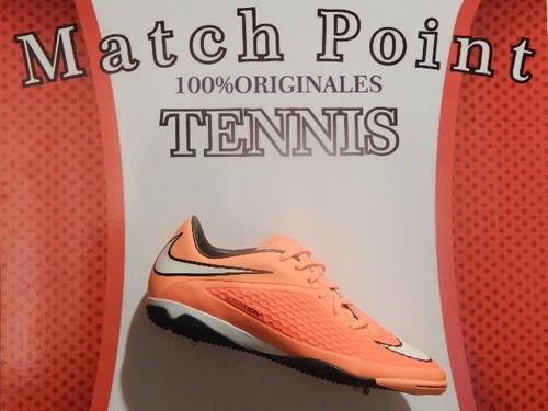 tenis nike hypervenom fhelom ic  multiusos originales 100%