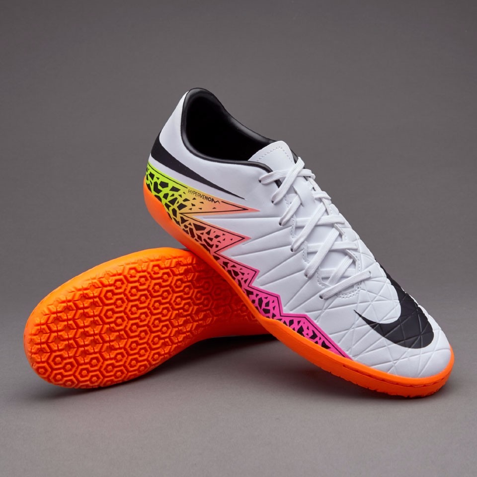 2c6f32496 Tenis Nike Hypervenom Phelon Liga Ic Blanco 2016 - $ 1,999.00 en ...