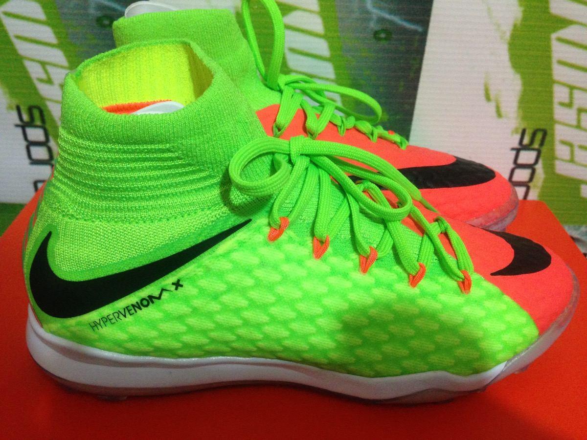 731dd91a2172f Tenis Nike Hypervenom X Proximo 100%original Botita De Niño ...