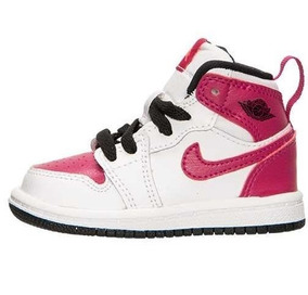 f5444a811 Tenis Nike Jordan 1 Spirit Fuchsia Talla 12 Cm Niña Remate