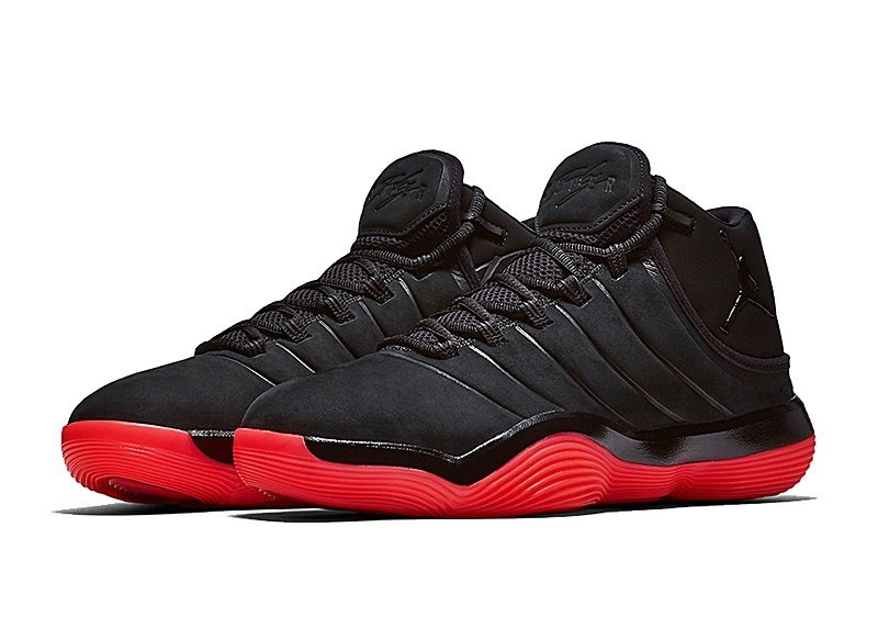 Negro Superfly Inmediato Envio Tenis Nike 2017 Jordan Rojo lFKJT1c