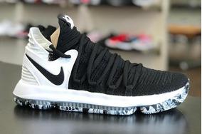 bba5dd75ab3 Tenis Nike Kd 10 Black Is White Original Kd 11 C caixa Novo