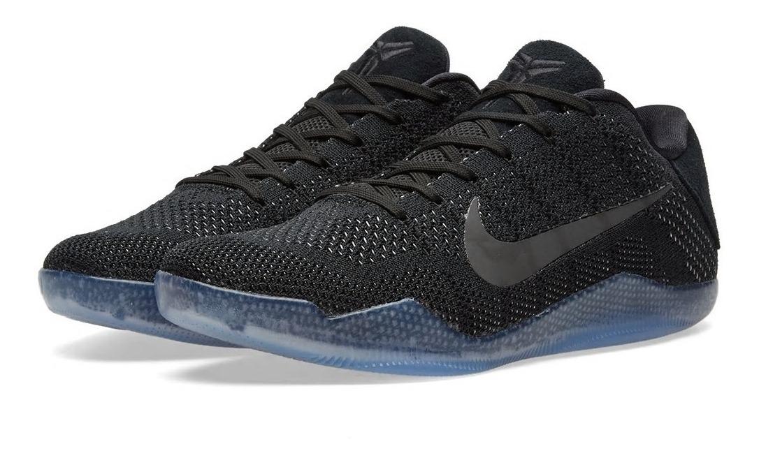 new style 1c324 ae6b1 Tenis Nike Kobe 11 Elite Low Black Space Jordan Lebron