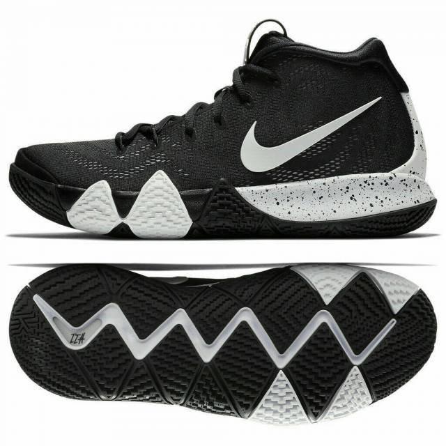 buy online 149fc cc572 Tenis Nike Kyrie 4 Tb Negro C/blanco # 25 Y 25.5 Cm. Msi