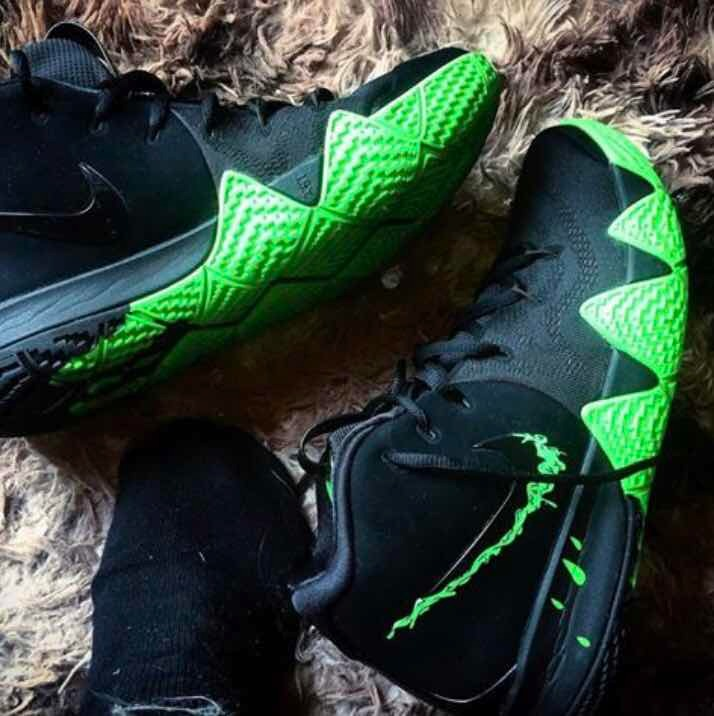 huge discount e1451 84f07 Tenis Nike Kyrie Irving 4 Halloween (#26.5 Al 28.5 Mx) Caja