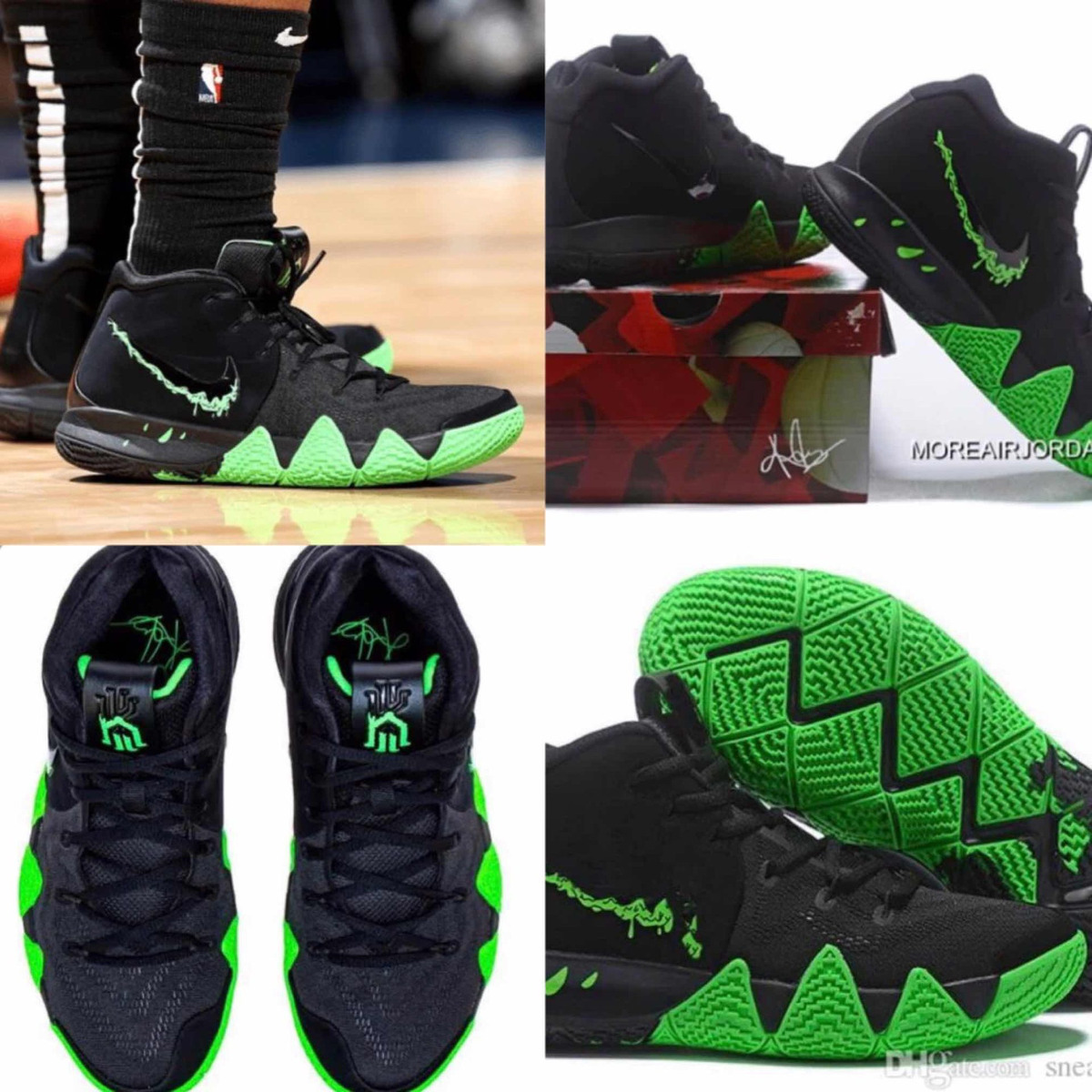 quality design ad07a f3792 Tenis Nike Kyrie Irving 4 Halloween #6.5 Al 8.5 Mx + C Caja