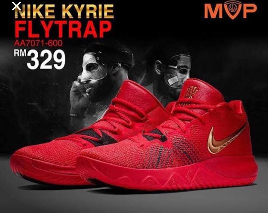 designer fashion 7921c 18815 Tenis Nike Kyrie Irving Flytrap Red
