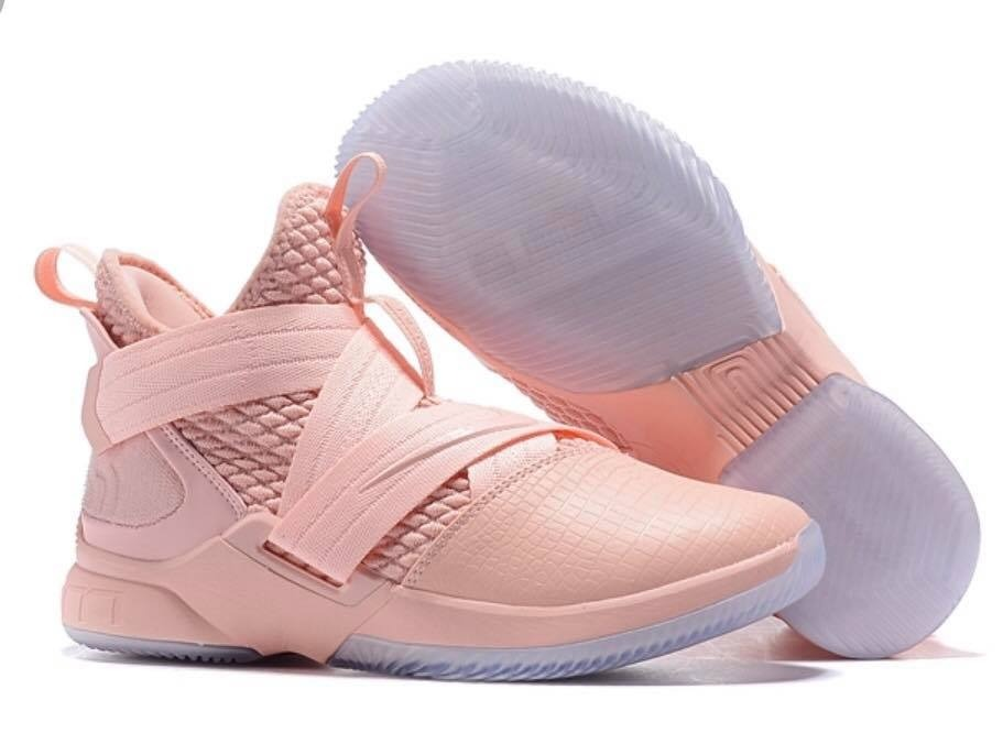 86e9007c338e tenis nike lebron james soldier xii edition casual pink. Cargando zoom.
