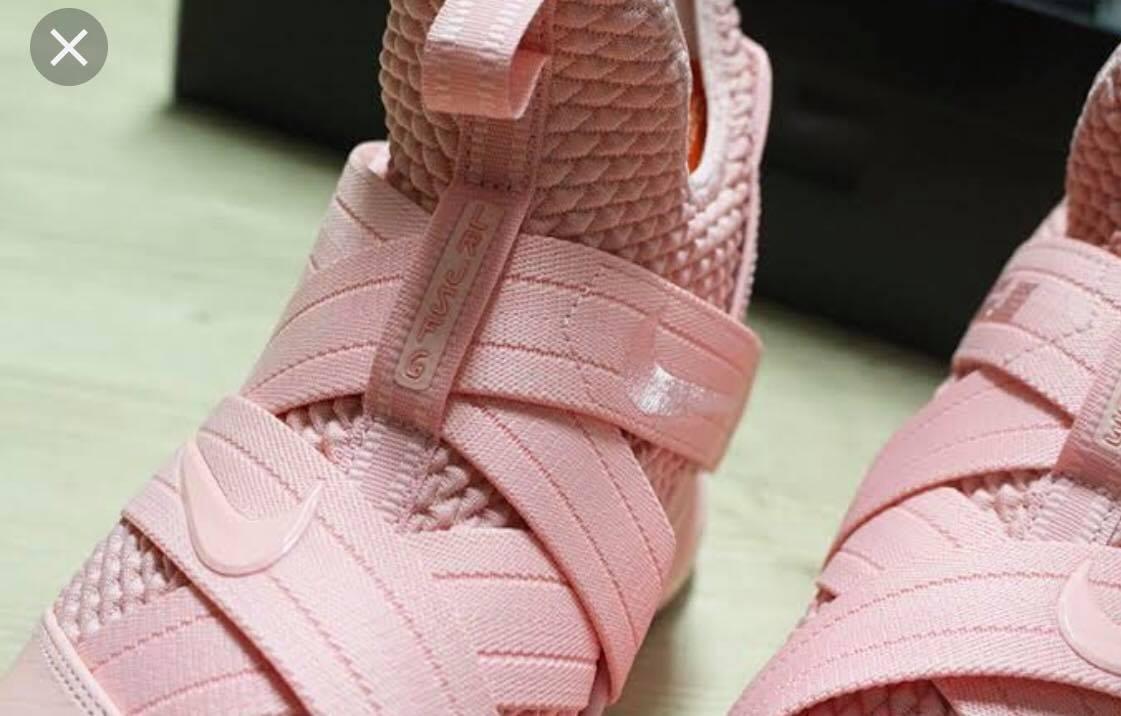 big sale e4234 c8b94 Tenis Nike Lebron James Soldier Xii Pink