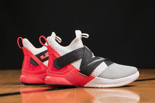 new product 29257 4bb6e Tenis Nike Lebron James Soldier Xii Sfg # 27,27.5 Cm Originales