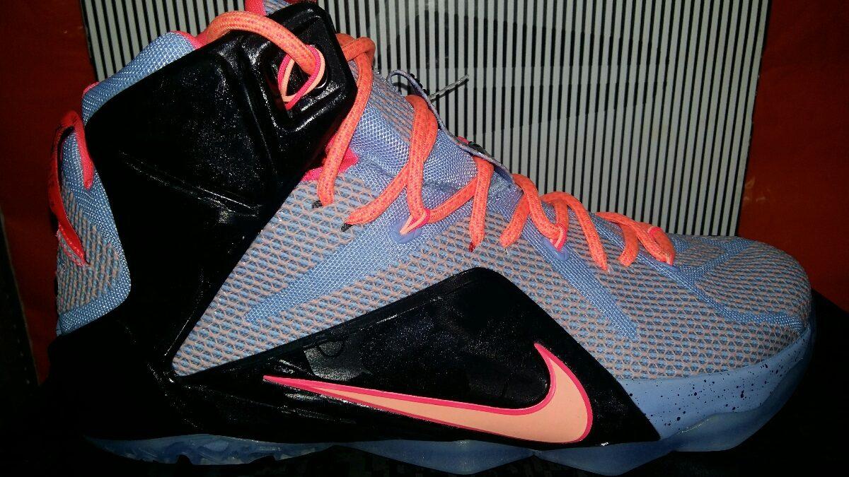 online store a17d4 c1a7b Tenis Nike Lebron James Xii Del 28.5 En $2300.00