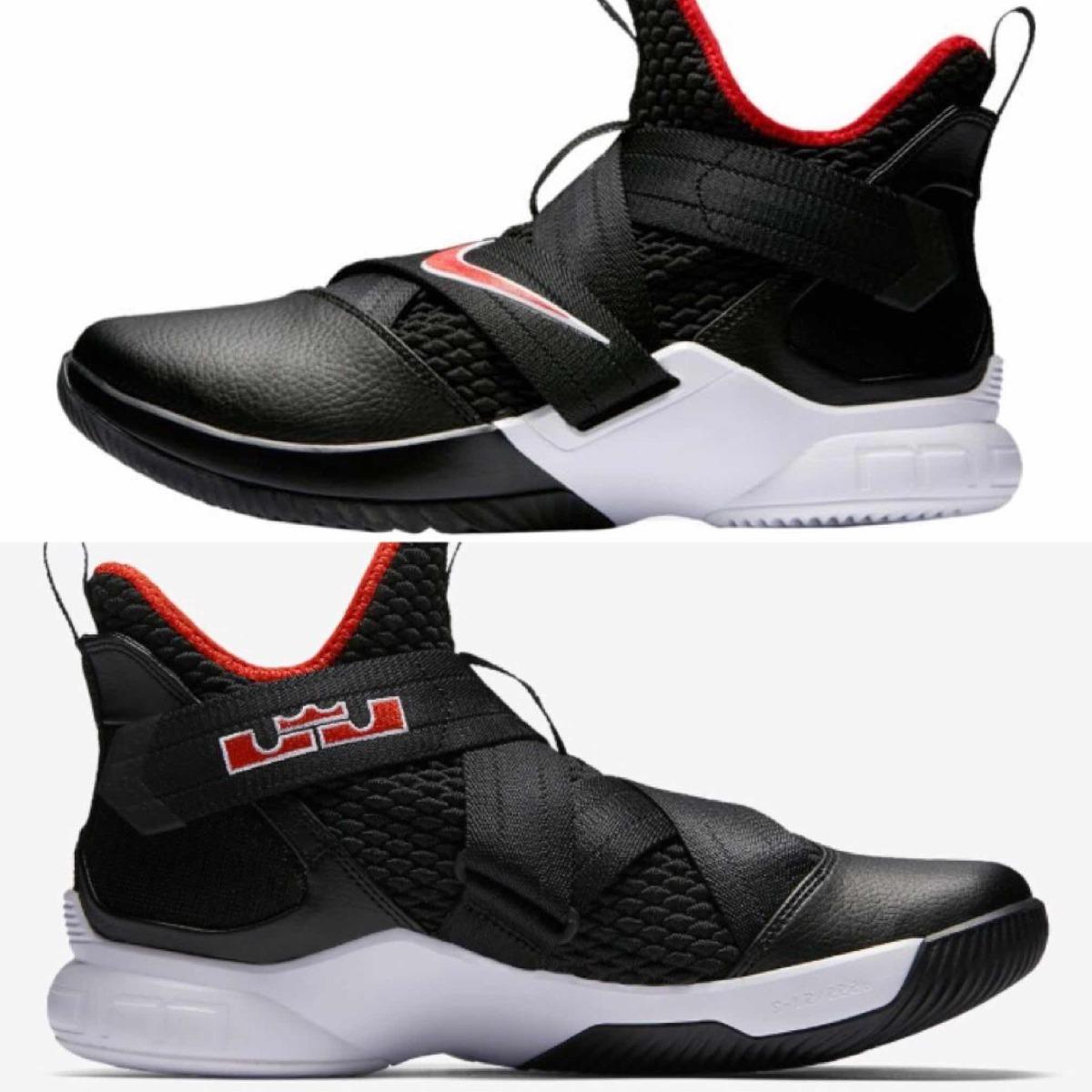 buy popular 1f72f 7f5ed Tenis Nike Lebron Soldier Xii #25 Al 31 Cm (100% Originales)