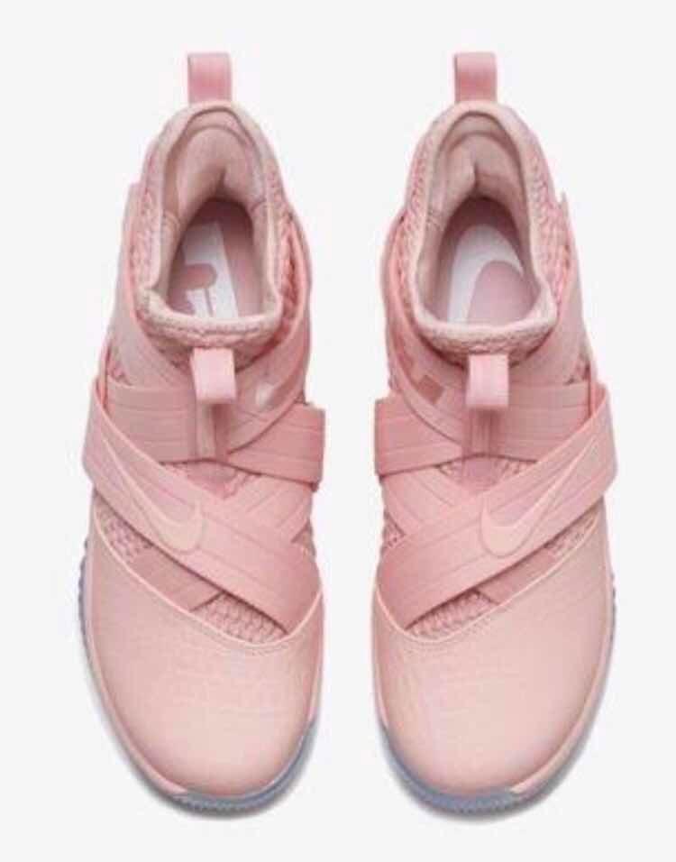 Tenis Nike Lebron Soldier Xii   Edicion Pink Ice  7.5 Al  10 ... da3a3c96b91