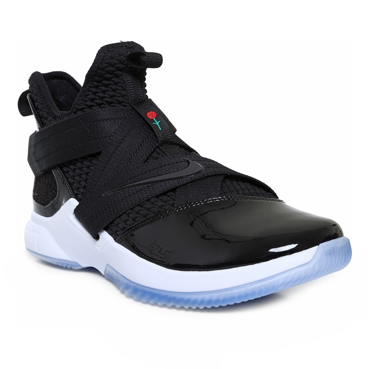 newest a9449 04526 Tenis Nike Lebron Soldier Xii Negro Rose Basketball Original