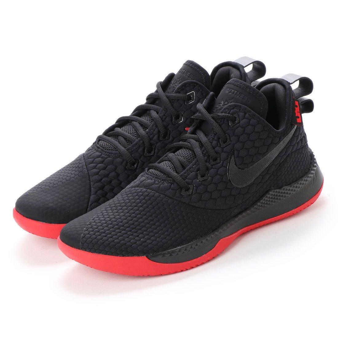 Zapatillas Nike Lebron Witness III en negro y rojo