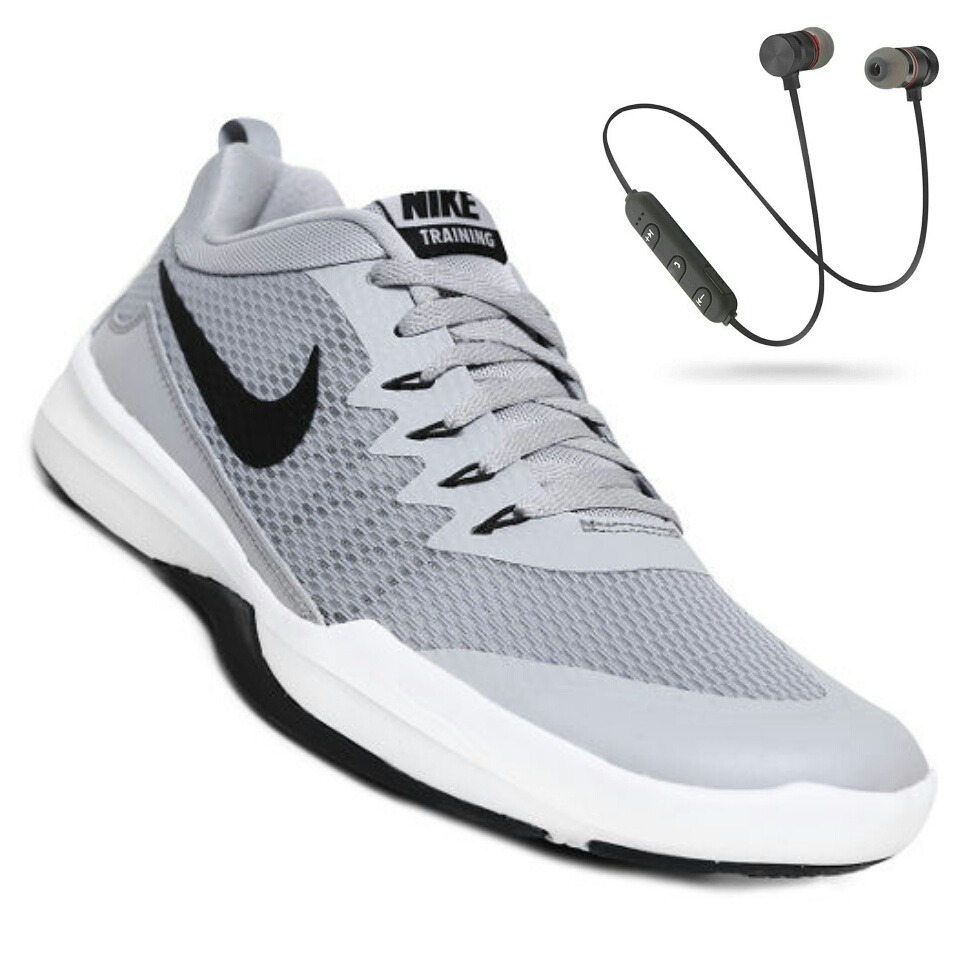 296804565a9 tenis nike legend trainer - gris y negro. Cargando zoom.