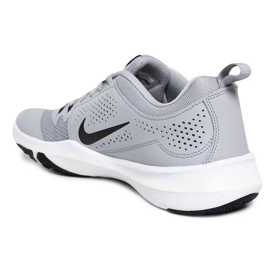 Tenis Nike Legend Trainer - Gris Y Negro -   2 23a16112351f8