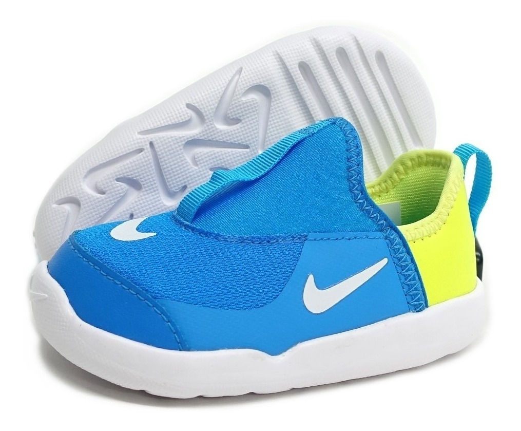 Tenis Nike Lil' Swoosh Aq3113 400 Originales Para Bebé