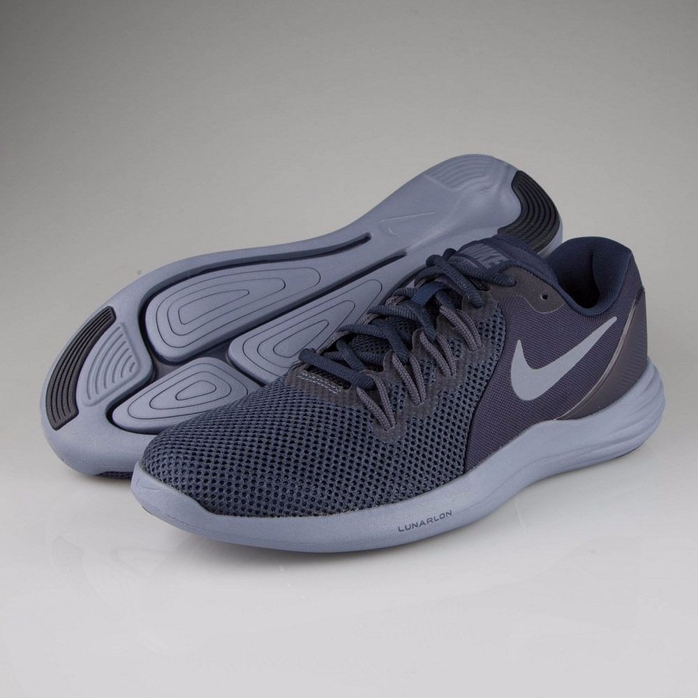 competitive price 0ee49 6cdfb Tenis Nike Lunar Apparent Azul Caballero