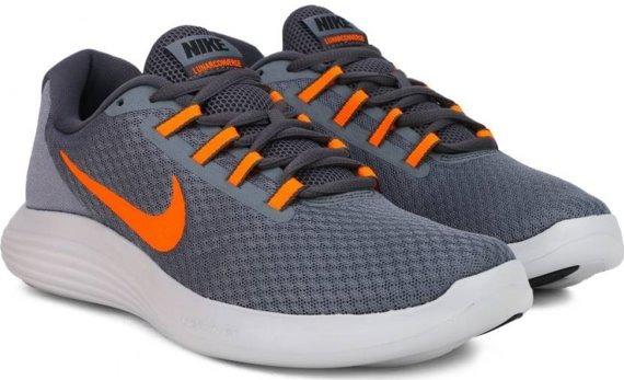 61fb675c36 Tenis Nike Lunarlon Converge Gris Y Naranja -   1