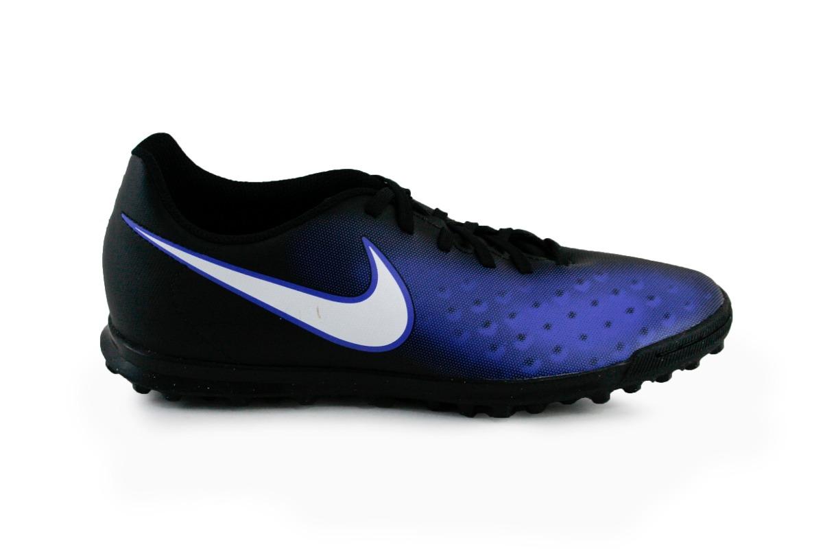 Tenis Nike Magista Ola Tf - Azul Con Negro 844408-016 -   1 d9943b23f5548