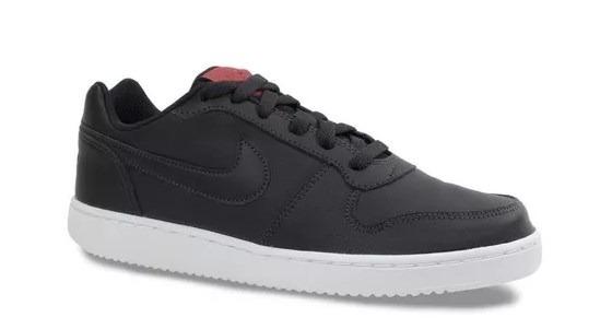 bb4dcbdf266 Tenis Nike Masculino Ebernon Low Preto bco - R  289