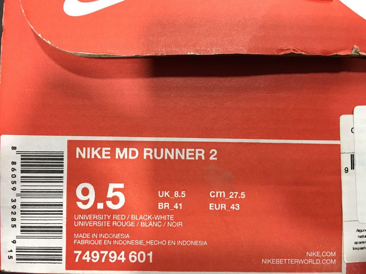Tenis Nike Md Runner 2 749794 601