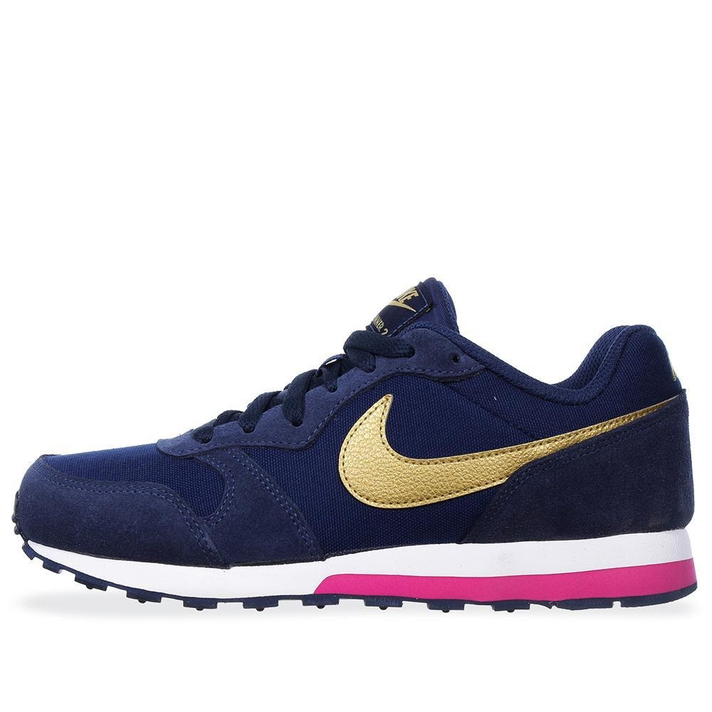 42e0fd9d40 tenis nike md runner 2 - 807319406 - azul marino - mujer. Cargando zoom.
