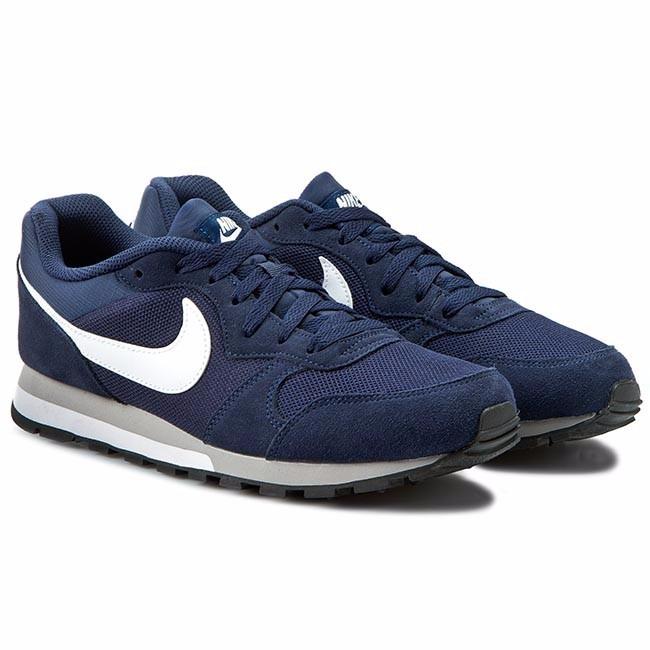 a395e2ca42 Tenis Nike Md Runner 2 Azul Tela -   1