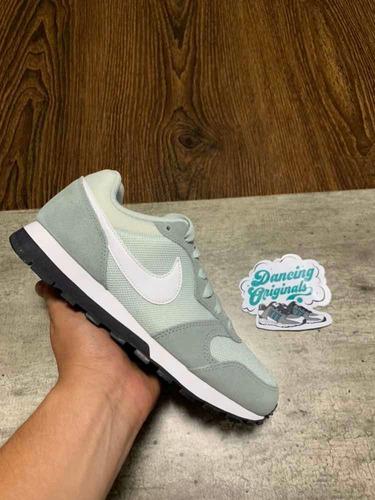 NIKE MD RUNNER 2: Zapatillas Mujer Nike 749869 013 verdes  Mejor Precio