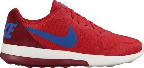 tenis nike md runner 2 rojo caballero
