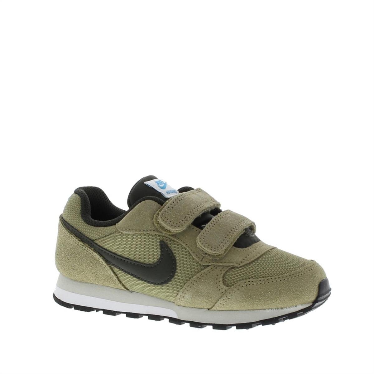 Nike Zapatillas Para Niño, Color Verde, Marca, Modelo Zapatillas Para Niño MD Runner Verde