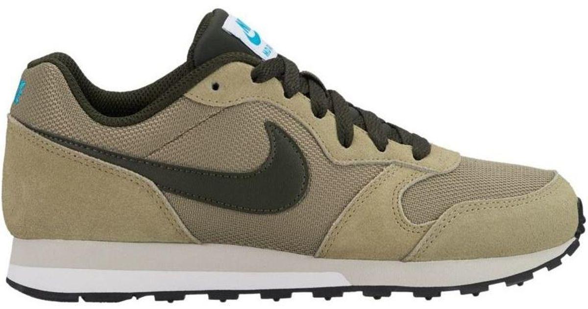 fa05eaf66f8 Tenis Nike Md Runner 2 Verde Militar Junior 22.5-25 Original ...