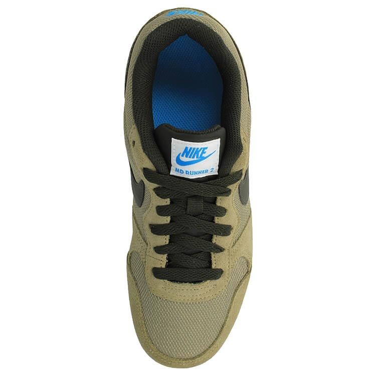 db62aa5c77 Tenis Nike Md Runner 2 Verde Militar Junior 22.5-25 Original ...