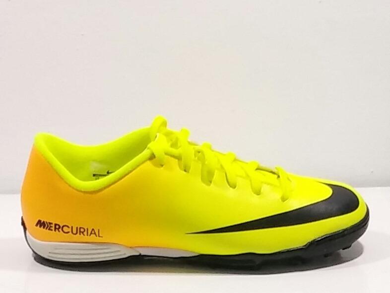 Neuropatía La forma Alérgico  Tenis Nike Mercurial Amarillo/naranja - $ 890.00 en Mercado Libre