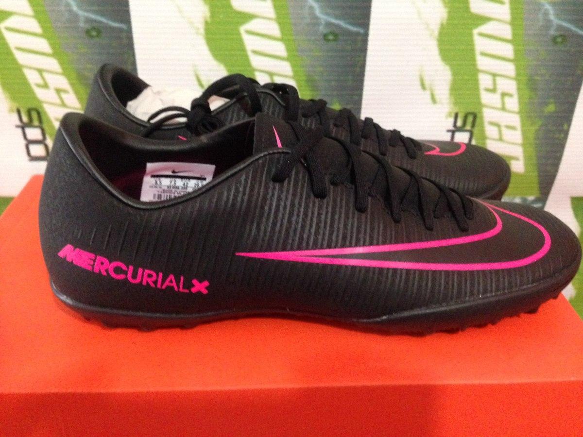 Tenis Nike Mercurial Victory Cr7 100%original Tf Negro Ofert ... 075b82feaecf8