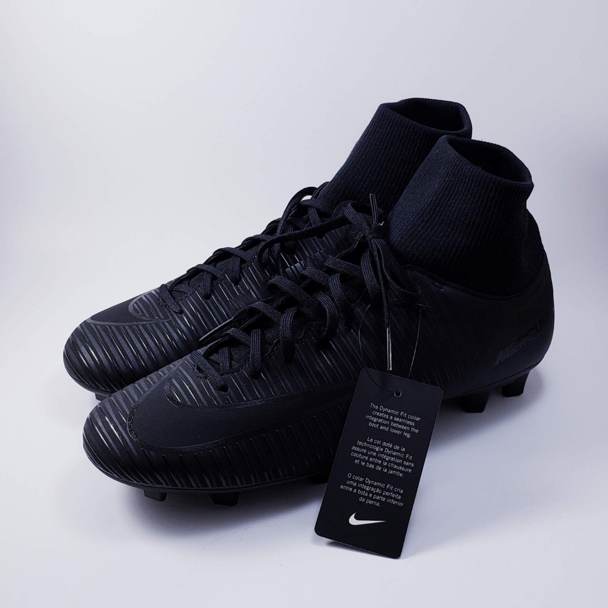 83ae6dbf4ba Tenis Nike Mercurial Victory Vi 6 Df Fg Cleats Triple Black ...