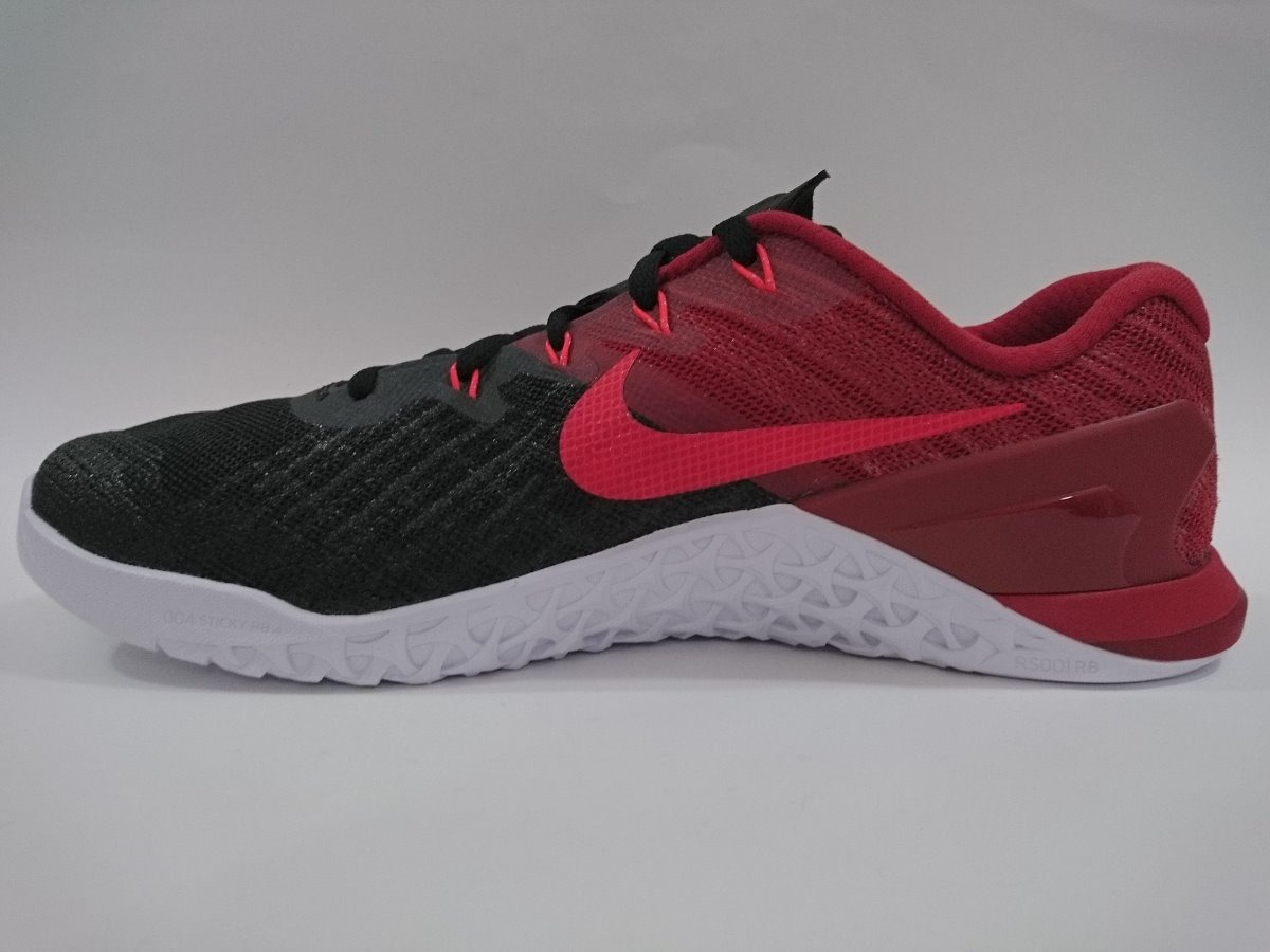 fd9edfbcee442 Tenis Nike Metcon 3 Color Rojo negro blanco -envío Gratis ...