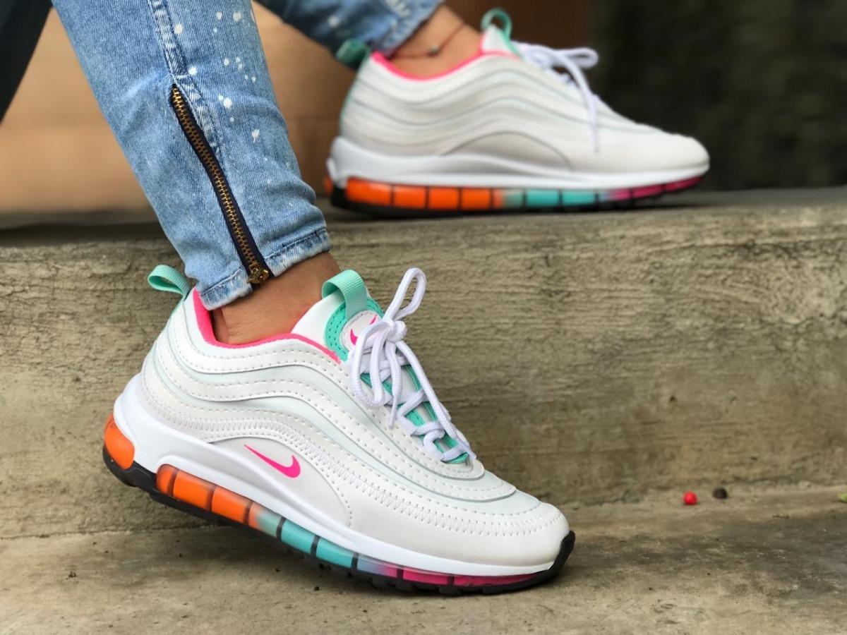 Air Zapatos Para Tenis Mujer Nike Max 97 Zapatillas XkiuTOPZ