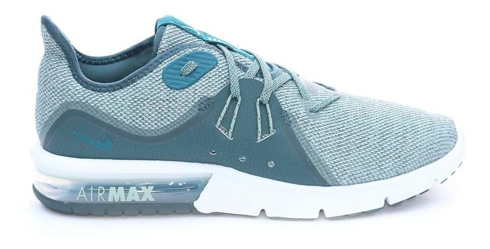 lavar Consulado Regaño  Tenis Nike Nike Air Max Sequent 3 Ver Hb Verde - $ 184.250 en Mercado Libre