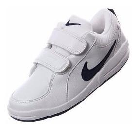zapatos nike blancos niño