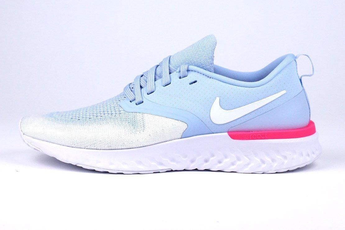 Tenis Nike Odyssey React 2 Flyknit Azul Crosa#3.5 Al 5.5 Mx