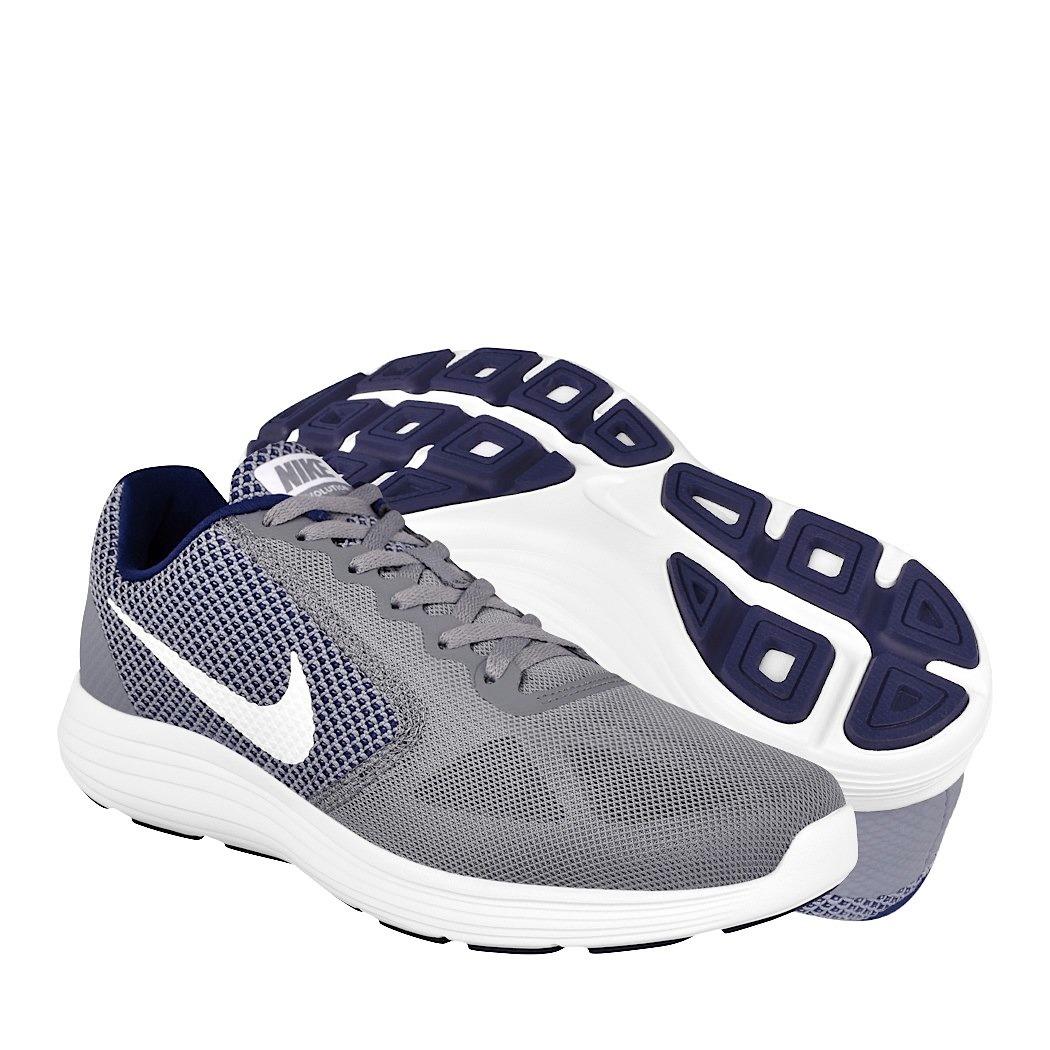 Textil Grey White Tenis Correr Para 819300019 Nike vnN8wOym0