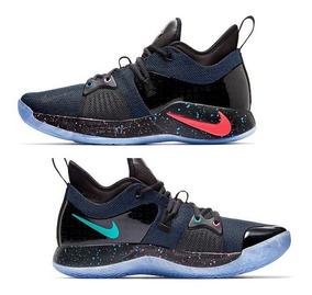 big sale 7b895 08ff7 Tenis Nike Pg 2 Playstation Colorway Ps4 Ed. Ltd.
