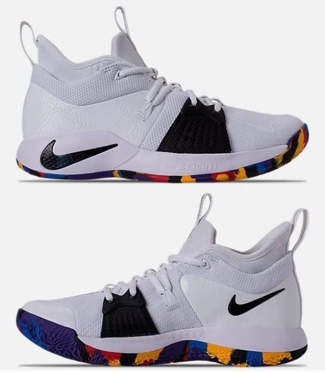 sports shoes aca4d 8d0db Tenis Nike Pg 2 Ts Paul George Multicolor ( # 7.5 Cm)