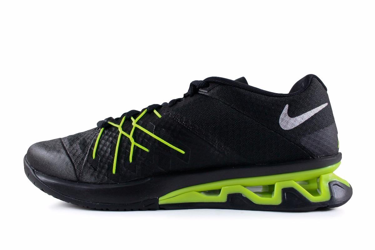 best loved aadee e9f49 tenis nike reax lightspeed ii - negro con neon 852694-018. Cargando zoom.