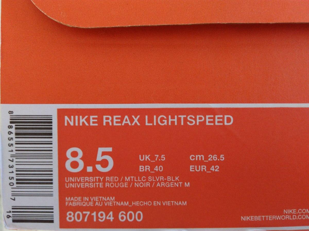 6e06dc203a tenis nike reax lightspeed - na caixa - promoção. Carregando zoom.