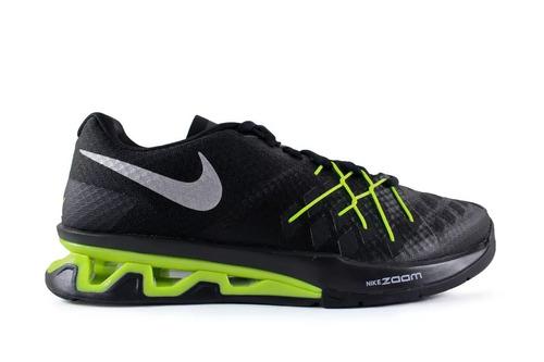6681fcdcb14 tenis nike reax lightspeed negro neon train run originales. Cargando zoom.